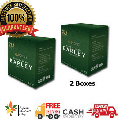 Amazing Pure Organic Barley (2 Sachets) (20 Days Program) Promo A