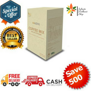 GLUTA COFFEE (WHITENING COFFEE MIX) 1 BOX (10 SACHETS)