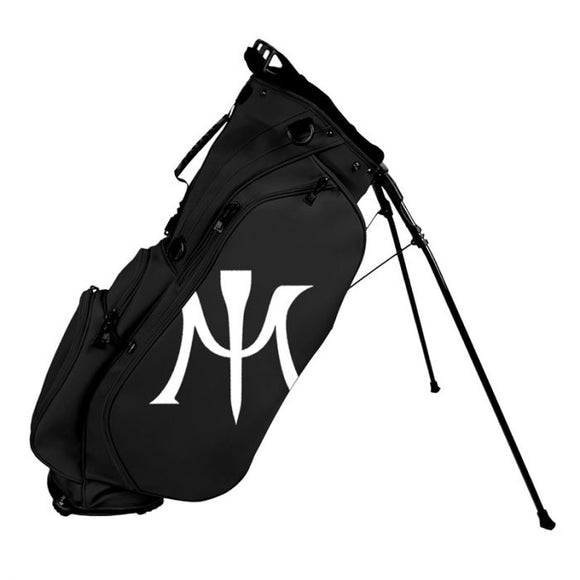 MIURA 2018 LIMITED EDITION GOLF STAND BAG - BLACK - ROC GOLF