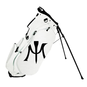 MIURA 2018 LIMITED EDITION GOLF STAND BAG - WHITE - ROC GOLF