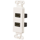Pro-wire Dual Hdmi 1.4-ready Wall Plate (pack of 1 Ea)
