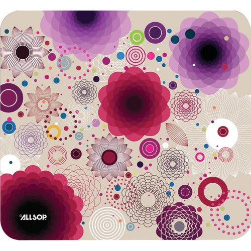 Allsop Mouse Pad (floral Retro) (pack of 1 Ea)