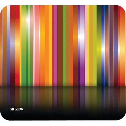 Allsop Mouse Pad (tech Multi Stripes) (pack of 1 Ea)