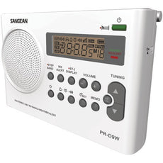 Sangean Portable Am And Fm And Noaa Alert Radio With Rechargeable Battery (pack of 1 Ea)