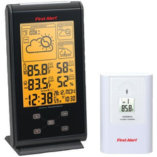 First Alert Radio-controlled Wireless Weather Station (pack of 1 Ea)