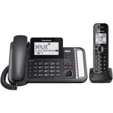 Panasonic Dect 6.0 1.9 Ghz Link2cell 2-line Digital Corded And Cordless Phone (1 Handset) (pack of 1 Ea)