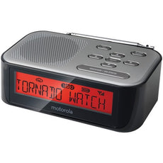 Motorola Desktop Weather Radio And Alarm Clock (pack of 1 Ea)