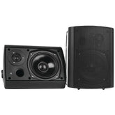 "Pyle Home 6.5"" Indoor And Outdoor Wall-mount Bluetooth Speaker System (black) (pack of 1 Ea)"