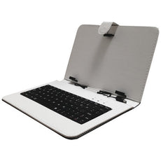 "Supersonic 7"" Keyboard With Usb (white) (pack of 1 Ea)"