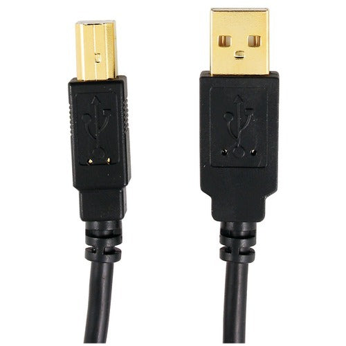 Axis A-male To B-male Usb 2.0 Cable (10ft) (pack of 1 Ea)