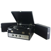 Pyle Pro Retro-style Bluetooth Briefcase Turntable With Vinyl To Mp3 Recording (pack of 1 Ea)