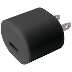 Iessentials 1-amp Usb Wall Charger (black) (pack of 1 Ea)