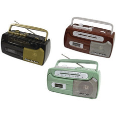 Studebaker Portable Cassette Player & Recorder With Fm Radio (pack of 1 Ea)
