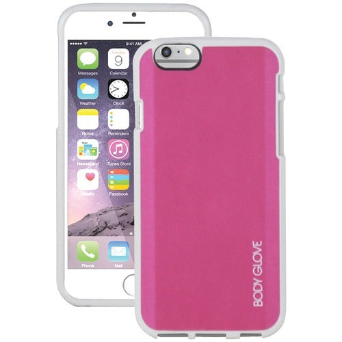 Body Glove Iphone 6 And 6s Fusion Silk Case (pink And White) (pack of 1 Ea)