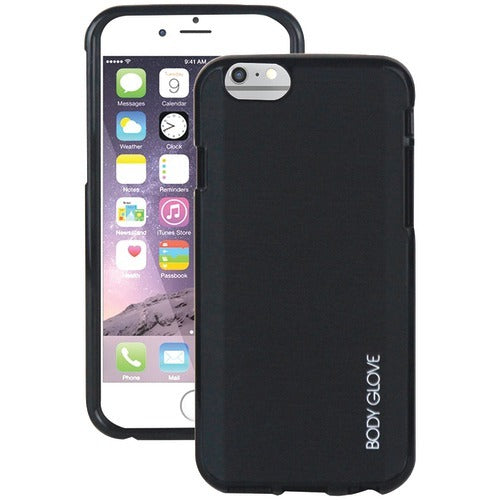 Body Glove Iphone 6 And 6s Fusion Silk Case (black) (pack of 1 Ea)