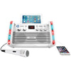 Akai Cd+g Karaoke System With Ipad And Tablet Cradle & Light Effect (pack of 1 Ea)