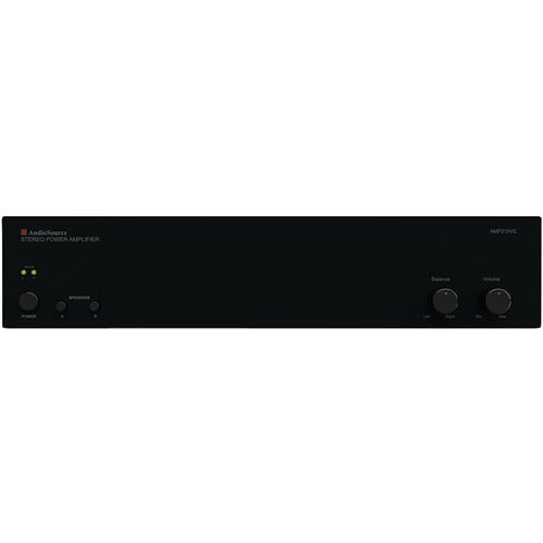 Audiosource Amp210vs 2-channel Analog Power Amp (100 Watts Per Channel) (pack of 1 Ea)