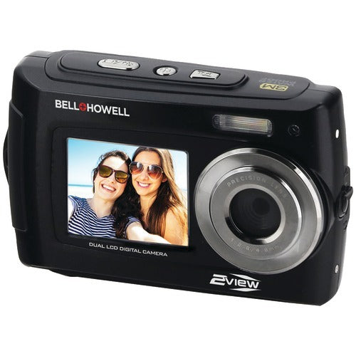 Bell+howell Bell+howell 2view 18mp And Hd Dual Screen Waterproof Camera (black) (pack of 1 Ea)