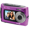 Bell+howell 2view18 Dual-screen Waterproof Hd Camera (purple) (pack of 1 Ea)