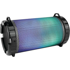 Serene-life Portable Bluetooth Boom Box & Stereo System With Flashing Dj Lights (pack of 1 Ea)