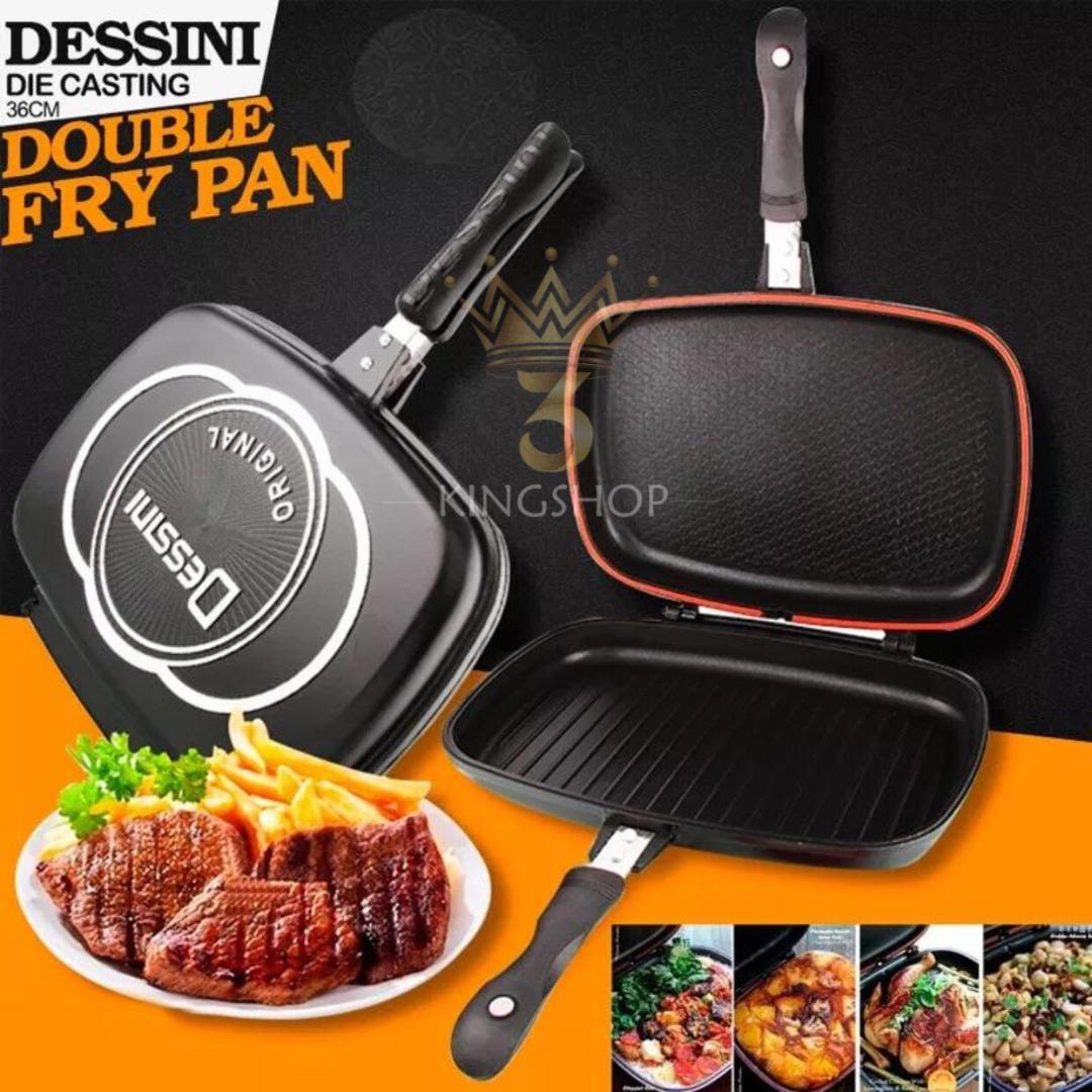 Dessini Double Fry Pan Original