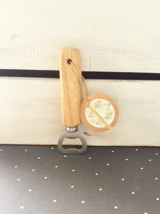 Wooden Handled Bottle Opener