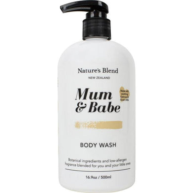 Nature's Blend Mum & Babe Body Wash 500ml