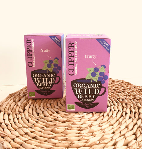 Clipper Tea Organic Wild Berry Infusion 20 bags