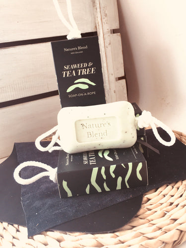 Soap On A Rope 170G - SEAWEED & TEA TREE
