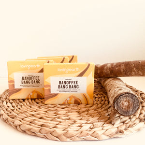 Loving Earth Banoffee Bang Bang Chocolate Bar 45g