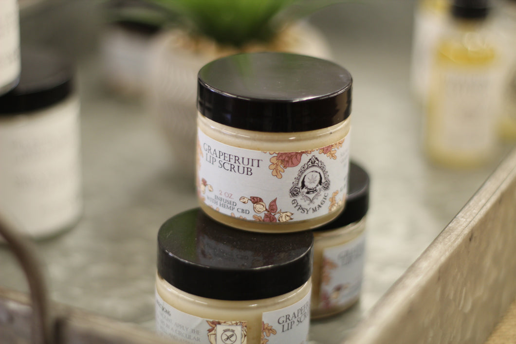 Gypsy Magic Grapefruit Lip Scrub