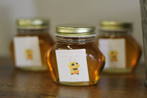 Local raw unflitered honey