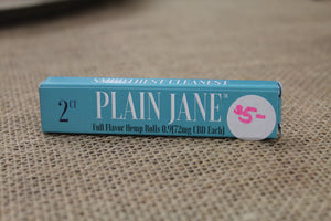 Plain Jane Hemp Cigarettes 2-Pack