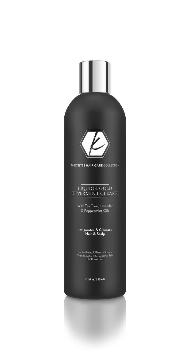 LiQuick Gold Peppermint Cleanse Shampoo