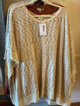 Load image into Gallery viewer, Umgee curvy taupe poncho
