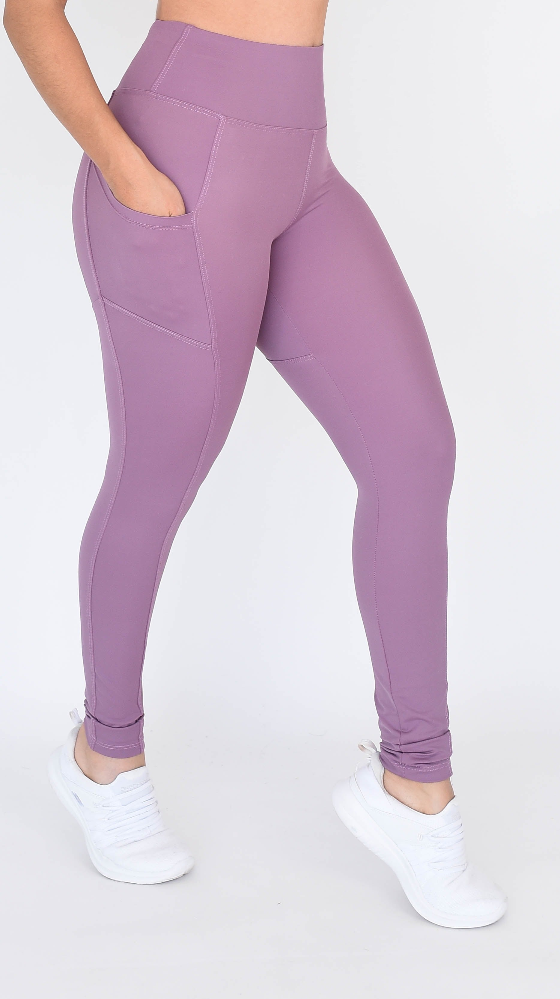 Legging Anti-transparencia Bolsas