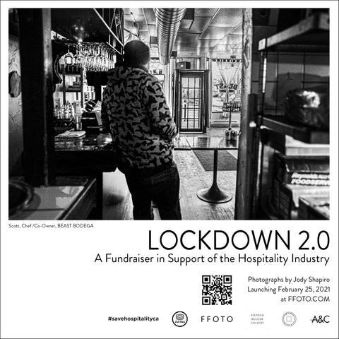 Poster: Lockdown 2.0 - A Fundraiser for Toronto's Hospitality Industry