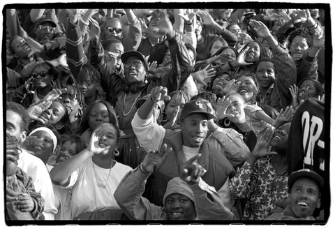 hip hop crowd