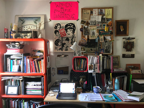 Liz Ikiriko's #WFH set-up