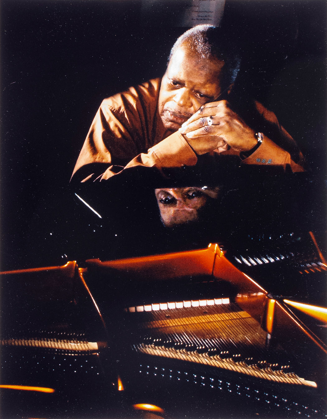 Oscar Peterson, A Lifetime Folio of Personal Portraits
