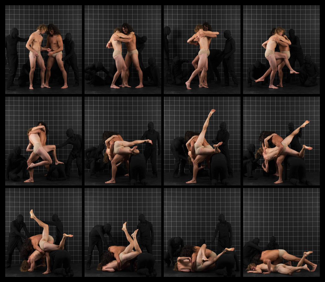 After Muybridge: Wrestlers 1