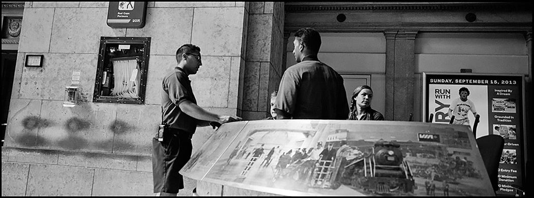 Red Caps, Union Station, Toronto, Canada - Larry Towell | FFOTO