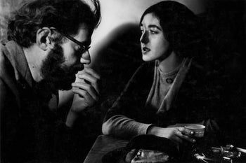 FFOTO-Dave Heath-Allen Ginsberg and Barbara Moraff, 7 Arts Coffee Gallery, New York City