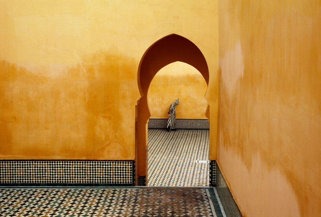 Mausoleum of Moulay Ismail, Meknes, Morocco - Bruno Barbey | FFOTO