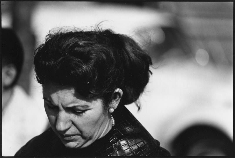 New York City [Woman with pearl earrings] - Dave Heath | FFOTO