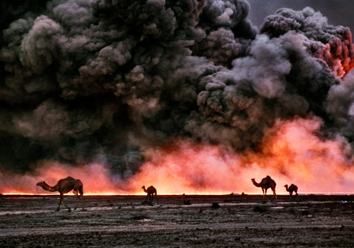 FFOTO-Bruno Barbey-Burgan oil fields, Kuwait