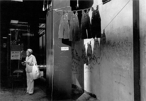 FFOTO-Dawoud Bey-A Woman with Hanging Overalls