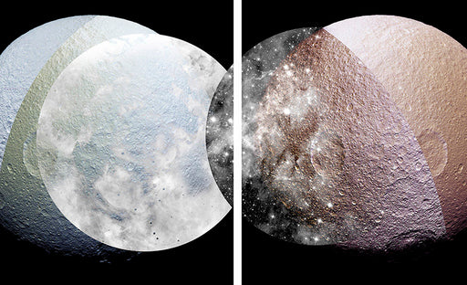 The Colours of Tethys (300 meters per pixel) - Sanaz Mazinani | FFOTO