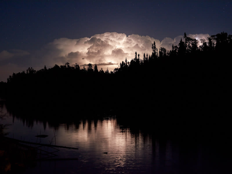 Lightning storm clean, on location ELA, Canada - Guillaume Simoneau | FFOTO