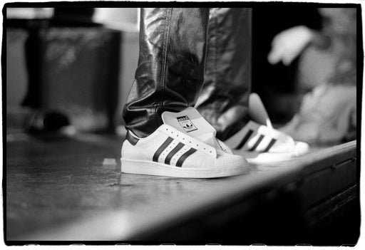 (Temporarily unavailable) My Adidas - Run DMC performing at Hammersmith Odeon, London, UK, 13 September, 1986,